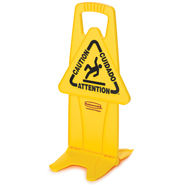 S/O STABLE SAFETY SIGN YELLOW